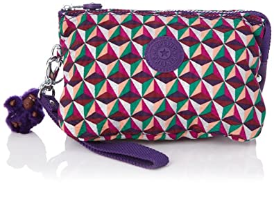 Kipling Women's Creativity XL Purse K15156A24 Triangle Print