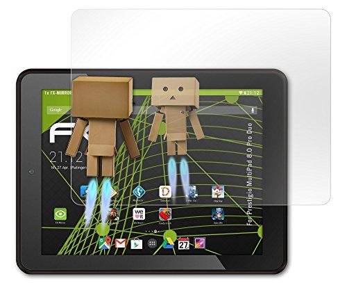 atFoliX Displayschutz Prestigio MultiPad 8.0 Pro Duo Spiegelfolie - FX-Mirror mit spiegeleffekt