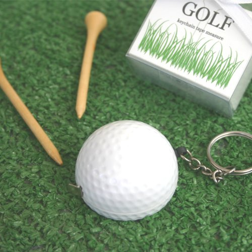 &quot;A Leisurely Game of Love&quot; Golf Ball Tape Measure (pack of 5)