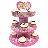 Disney Princess Party 3 Tier Cake Stand Cardboard