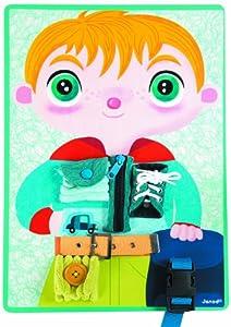 Janod - Juego para practicar con cierres para chico (08507059) de Janod - BebeHogar.com