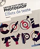 Effets de texte : Volume 2 (1Cdrom)