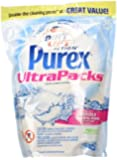 Purex Ultra Packs Liquid Laundry Detergent, Free and Clear, 36 Count