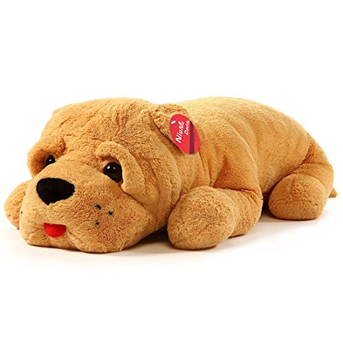 Stuffed Animal Dog Pillow : Giant Dog Stuffed Toy Plush Puppy Animal Big Doll Pillows Cuddle Huge Kids Gift eBay