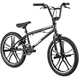 "20"" Freestyle Bike Black steel sure stopping steel handlebar aluminum wheel"