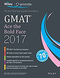 Wileys GMAT Ace the Bold Face 2017