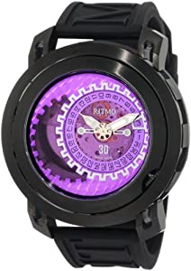 Ritmo Mundo Men's 202/3 Purple Pink Persepolis Dual-Time Exhibition Automatic Watch