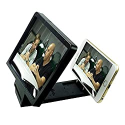 Origlow Universal Mobile Phone Analog 3D Video Folding Enlarged Screen Expander Stand for iPhone, Samsung And other Smart Phones (Color May Vary)