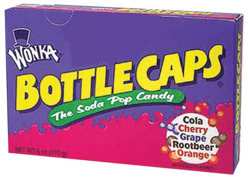 bottle caps candy