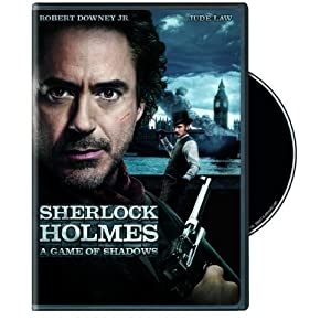Sherlock Holmes A Game of Shadows DVD