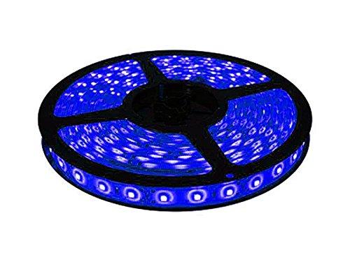 Speedwav 5 Meters Waterproof Cuttable LED Lights Strip Roll – Blue-Tata Tiago