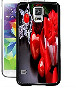 ColourCraft Love Collection Design Back Case Cover for SAMSUNG GALAXY S5