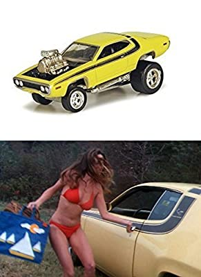 Smokey & The Bandit The Dukes of Hazzard Car Set Trans-Am Plymouth Road Runner Hollywood Movie Series Pontiac Car Set - Greenlight