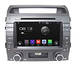 See For TOYOTA LAND CRUISER LC200 2004-2014 Double Din In-dash 8 Inch Android 4.4 Car DVD Player GPS Navigation Stereo with WIFI/ DVD/CD/MP3/MP4/USB/SD/AM/FM/RDS Radio/Hands Free Bluetooth/Steering Wheel Control/iPhone/iPod Controls/ Free Rear View Camera & M Details