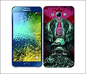 Galaxy Printed 2370 Metal Chevron Tribul Hard Cover for Samsung S3 NEO