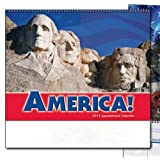 America! Scenic Spiral Wall Calendar Trade Show Giveaway