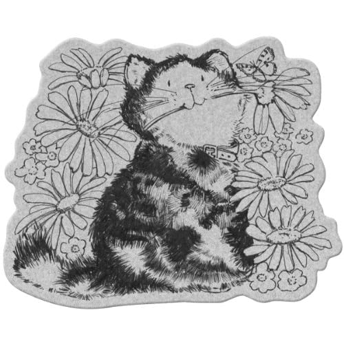 Penny Black Cling Rubber Stamp 4X5.25 Daisy Love