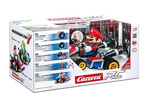 Carrera RC - Mario Kart 7: Mario, coche con radiocontrol, escala 1:16 (Carrera 162060)