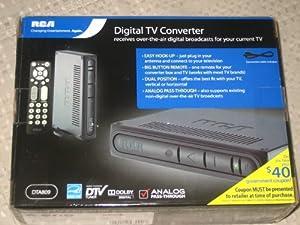 RCA DTA809 DTV Digital TV Converter Box