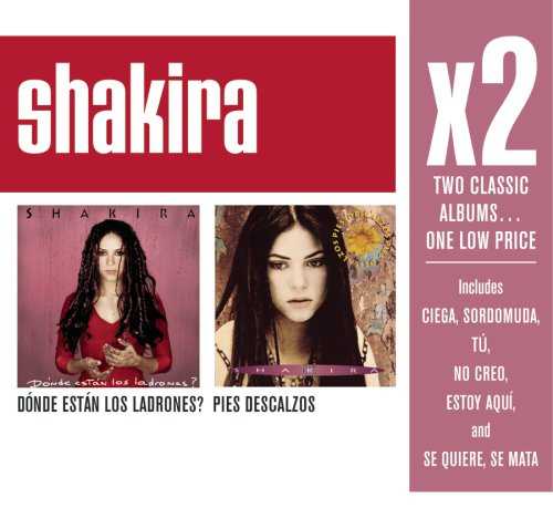 Shakira - X2:(Donde Estan Los Ladrones/ Pies Descalzos) - Lyrics2You