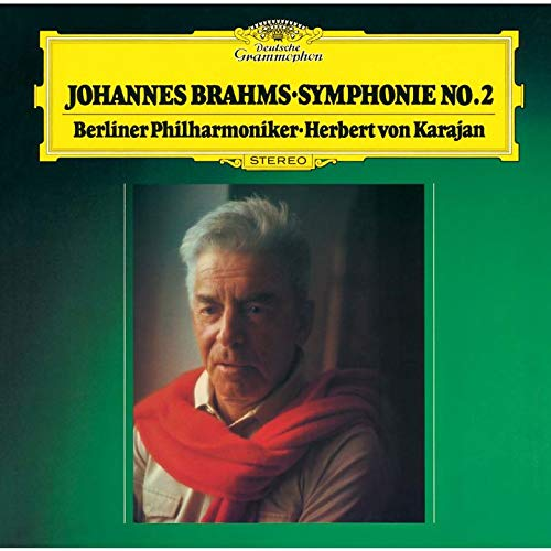 SACD : VON KARAJAN,HERBERT - Brahms: Symphonies 2 & 3 (Limited Edition, Direct Stream Digital, Super-High Material CD, Japan - Import, Single Layer SACD)