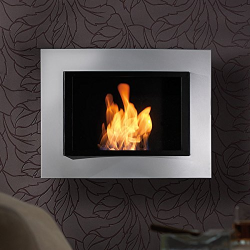 carlo milano kaminfeuer comfort zur wandmontage bio ethanol spar baumarkt. Black Bedroom Furniture Sets. Home Design Ideas