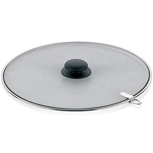 kela-11305-buco-grille-anti-eclaboussures-acier-inoxydable-argent-noir-28-cm
