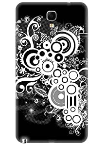 Spygen Premium Quality Designer Printed 3D Lightweight Slim Matte Finish Hard Case Back Cover For Samsung Galaxy Note 3 Neo SM-N7505
