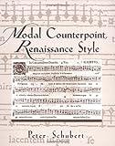 Modal Counterpoint, Renaissance Style