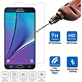 Note 5 Screen Protector, Caseguru® Samsung Galaxy Premium Note 5 Tempered Glass Screen Protector - (9H Hardness 0.33mm 2.5D) Ultra HD Clear Maximum Touchscreen Accuracy [Lifetime Warranty]