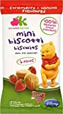 Annabel Karmel Disney Mini Biscotti Biscuits 12mth+ Strawberry & Vanilla (4x20g)