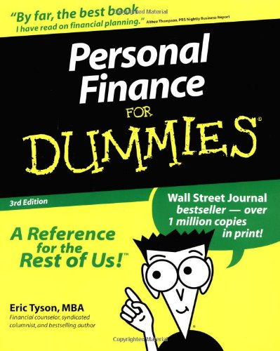 Personal Finance For Dummies (Personal Finance for Dummies, 3rd ed)