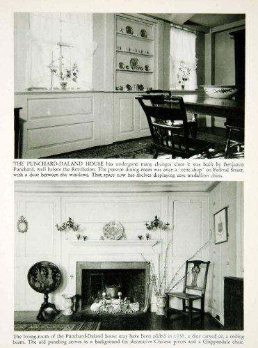 Sale 1950 Rotogravure Punchard Daland House Furniture