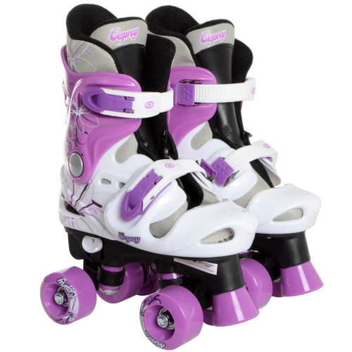 Osprey Girls Quad Skates / Roller Boots - Size UK 13-3 (Eu 32-36)