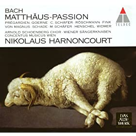 "Bach, JS : St Matthew Passion BWV244 : Part 1 ""Erkenne Mich, Mein H�ter"" [Chorus]"