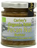 Carleys Organic Raw Pecan Butter 170 g (Pack of 2)