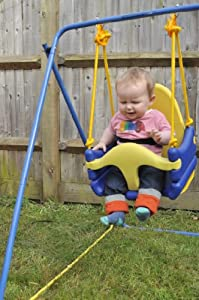 indoor or outdoor toddler and baby swing