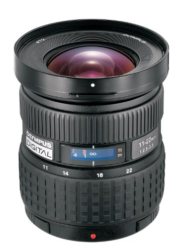 Olympus 11-22mm f/2.8-3.5 Zuiko Digital Zoom Lens for E1, E300 & E500 Cameras