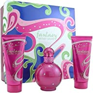 Fantasy by Britney Spears for Women, Set (Eau De Parfum Spray 3.3 Ounce, Body Lotion 3.3 Ounce,…