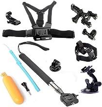 Afunta GoPro Kits - Kit accesorios 6 en 1 para GoPro Hero 3+/3/2/1