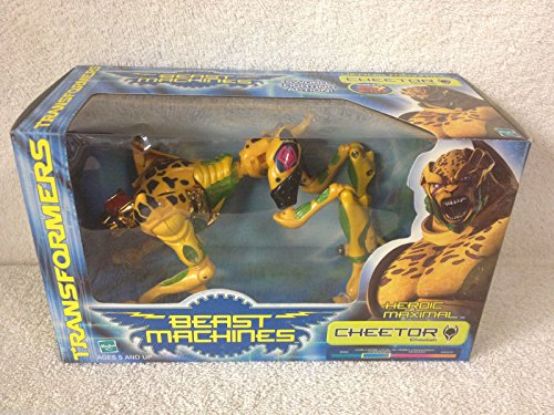 CHEETOR-CHEETAH-Transformers-1999-BEAST-MACHINES-Heroic-Maximal-Action-Figure