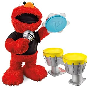 Sesame Street Lets Rock Elmo Toy