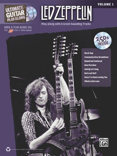 Ultimate Guitar Play-Along Led Zeppelin, Vol 1: Authentic Guitar Tab (Book & 2 Cds) By Led Zeppelin (2010) Sheet Music