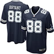 Dez Bryant Dallas Cowboys Game Day Home Navy Jersey Adult Large