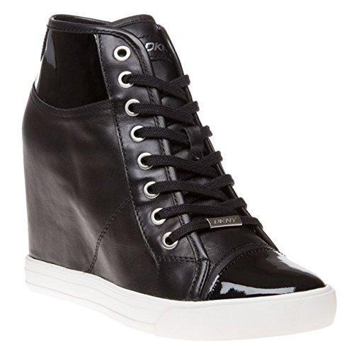 Dkny Grommet Zip Donna Sneaker Nero