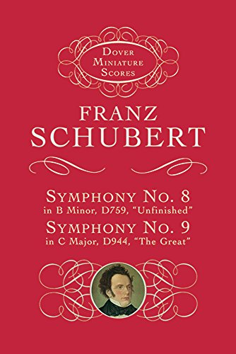 Symphonies Nos. 8 & 9 (Dover Miniature Scores)