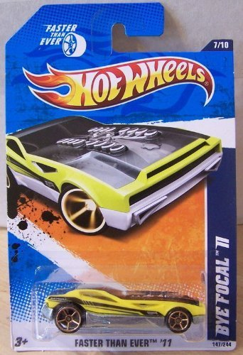 Hot Wheels 2011 Faster Than Ever #7/10 Yellow BYE FOCAL II #147/244