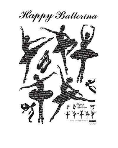 Ambiance Live Vinilo Decorativo Happy Ballerina decal