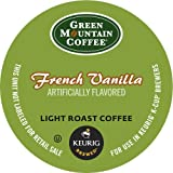 Keurig, Green Mountain Coffee, French Vanilla, 50-Count K-Cup Packs, Net. Wt. 16.5 Oz