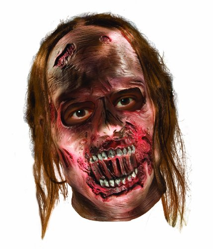The Walking Dead Decayed Zombie Latex Mask